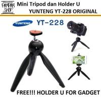 Jual TERLARIS!!! Original Mini Tripod Camera Yunteng YT-228 Diskon Murah