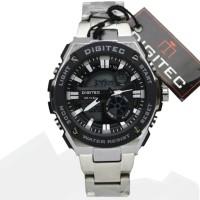 Jual jam tangan PRIA ori anti air analog D-ZINER mirage rolex alba N10 Murah