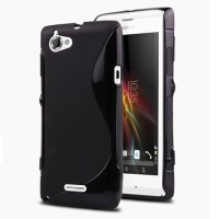 Sony Xperia L C2105 - S Wave Line Soft Case Back