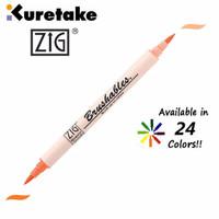Jual Kuretake Zig Brushables Two-Tone Brush Pen MS-7700 Murah