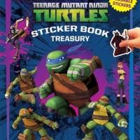 Jual Buku Anak STICKER BOOK TREASURY TEENAGE MUTANT NINJA TURTLES Murah
