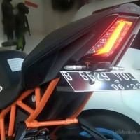 Tail Tidy / fender eliminator KTM RC 250 / RC 200 / RC 390