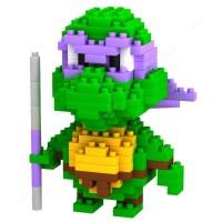 Jual LOZ Lego Nano Block Nanoblock Ninja Turtle Donatello Purple Murah