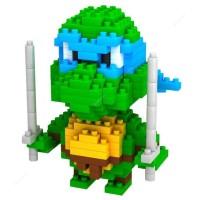 Jual LOZ Lego Nano Block Nanoblock Ninja Turtle Leonardo Blue Murah
