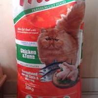Jual khusus gosend promo maxi cat food repack 1kg Murah