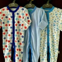 LIBBY PPREMIUM 3pcs Sleepsuit (Boy) dengan Sarung Tangan