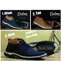 Jual Sepatu Casual Pria / Sepatu Casual Murah / Sepatu Dalmo Boots Tan Murah