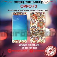 Garskin Oppo F3 - Batik Bisa Custom Gambar