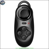 Jual Joystik Gamepad Mini Bluetooth Remote Shutter - Black Y2343 Murah