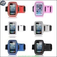 sport Armband Case HP / Sarung Lengan iPhone 4/4s Light Blue Y2390