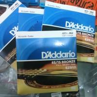 Jual Senar Daddario 011 Untuk Gitar Akustik Murah