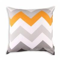 Sarung Bantal Sofa Zigzag / Cushion minimalis ukuran 40x40