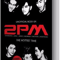 Jual Obral Buku - Unofficial Book Of 2PM The Hottest Time (Poster +Sticker) Murah