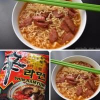 Nongshim Shin Ramyun Spicy Mushroom Noodle - Ramen Kuah Pedas Korea
