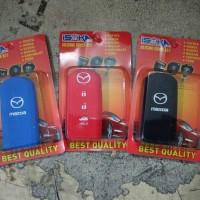 Jual Isoka - Casing Karet Silikon Remote Kunci Mazda 2 Murah