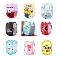 Jual Laundry Bag Box Keranjang Tempat Baju Doraemon Rilakkuma Hello Kitty Murah