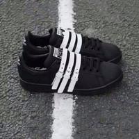 Jual BIG PROMOTE Adidas Stan Smith Strap x Raf Simons Sepatu Jalan Wanita P Murah