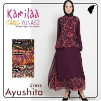Jual  KAMILAA By ITANG YUNASZ Dress Ayushita Murah