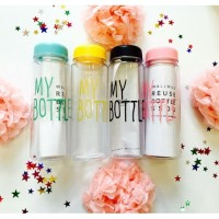 Jual My Bottle / Infused Water / Botol Minum Bahan Plastik Tritan Murah