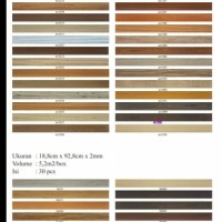 Jual lantai vinyl plank lotte 2mm Murah