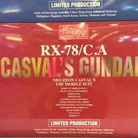 LIMITED PG Perfect Grade rx78 rx 78 casval ca zeon ORI GUNDAM GUNPLA