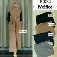 Jual Baju Atasan Wanita Baju Muslim Blouse Kemeja Dress Tunik Overall Jumps Murah