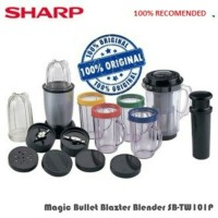 SHARP SB-TW101P BLAZTER MAGIC BULLET, blender multifungsi