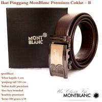 Gesper / Ikat Pinngang /  Sabuk wanita Monblanc Premium Coklat B