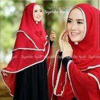 Jual OP1694 Khimar Syahida Hijab  Khimar Syahida 3 Layer KODE Bimb2171 Murah