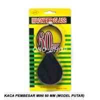 Jual Kaca Pembesar Mini 60 mm (Model Putar) Limited Murah