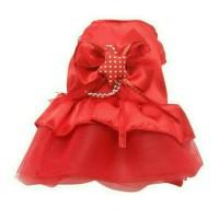 Jual Hobi mini tutu dress baju anjing kucing hewan peliharaan pet cloth Murah