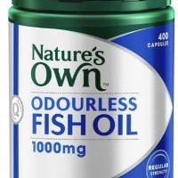 Jual Odourless Fish Oil Omega 3 1000mg 400 caps (KS-0534) Murah