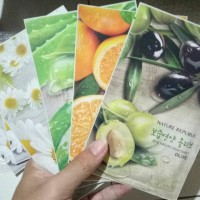 Jual REAL NATURE MASK SHEET MASKER WAJAH NATURE REPUBLIC TERMURAH Murah