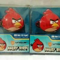 Jual USB HUB 2.0 MODEL ANGRY BIRDS Murah