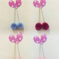 Jual anting pompom Murah