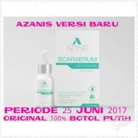 Azanis Scar Serum Versi Terbaru Original Serum Bopeng Bekas Luka