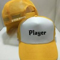 Jual TOPI TRUCKER player- GRACIA MERCY Murah