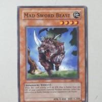 Jual Kartu Yugioh ORIGINAL - Mad Sword Beast Murah