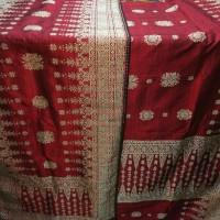 Jual songket tenun sutra asli Palembang cantik manis rebung Murah