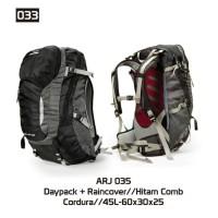 Jual Tas Gunung Daypack Backpack Carrier Trekking 45 Ltr ARJ035 Murah