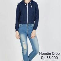 Jual hoodie crop polos Murah