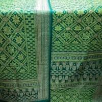 Jual songket tenun sutra asli Palembang Bungo Cino Murah