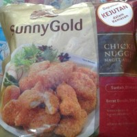 Jual chicken nugget sunny gold 50gr Murah