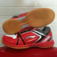 LIGA JR RED/SEPATU BADMINTON ANAK LIGA JUNIOR RED