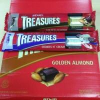 Jual Delfi Treasure Almond / Cookies n Cream 36 gr Murah