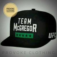 10556090379ec TOPI SNAPBACK TOPI UFC TEAM MCGREGOR