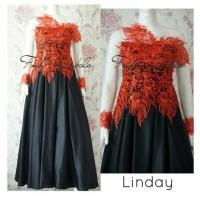 Gaun kebaya modern linday fnd lebels