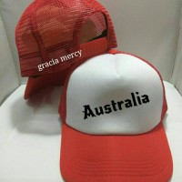 Jual TOPI TRUCKER australia- GRACIA MERCY Murah