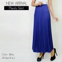 Jual Pleated skirt / rok panjang maxi Murah