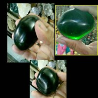 Dark Green Natural Obsidian